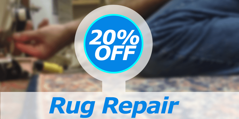 Get 20 Percent off Rug Repair